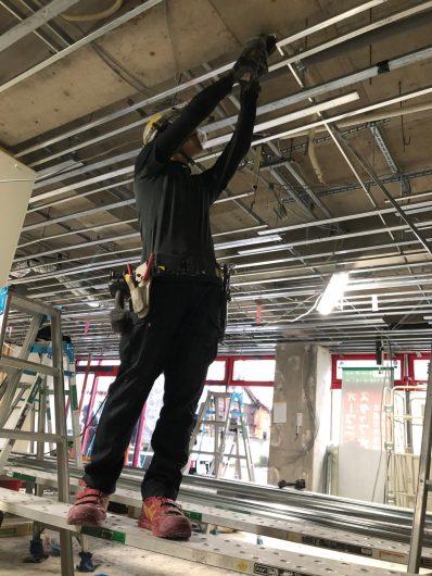神奈川県某スーパー改修工事